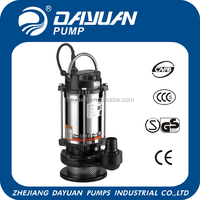 Electric stainless steel water pump floating rotor stator pump machine for irrigation