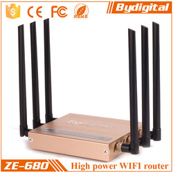 Bydigital 2.4GHz wireless router with serial port 300Mbps wifi marketing device