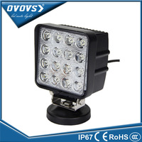 "Factory direct sell 4"" 48w led work light 3120Lm spot offroad driving lamp,flood beam auto working light"