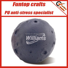 Customize pu promotional moon stress ball