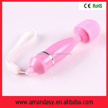 Beautiful magic wand massager,sexy girls vaginal massager,sexy toys vibrator,adult products,DN006