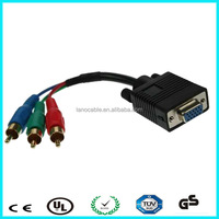 15 pin d sub rgb vga to rca female