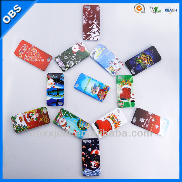christmas theme christmas mobile phone PC case