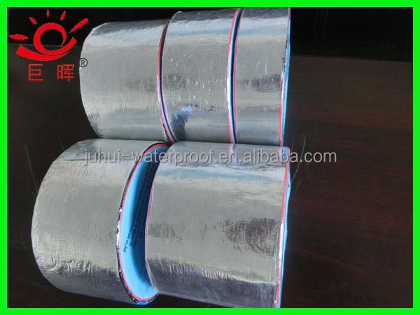 1.5mm thickness torched self adhesive bitumen waterproofing materials construction companies