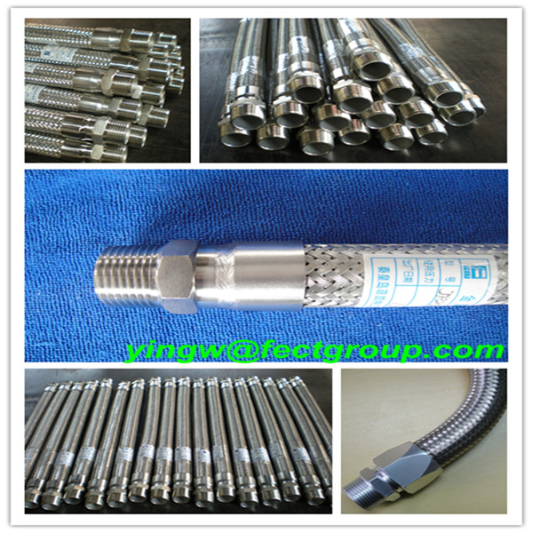 flexible pipe/metal hose/pipe/hot water heater flexible hose export to Japan
