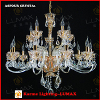 European ceiling light asfour crystal russian chandelier decoration