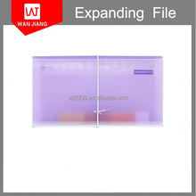 A4 13 pockes school plastic file document wallet easy to carry mini expanding file factory direct sale price in China