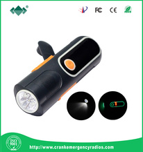 Glow in the Dark Eye shadow USB Charge LED Flashlight With Smartphone Charger