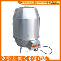 JINZAO DR-9S-N K+S Stainless steel Peking Duck Roster Oven/duck roasting machine/Gas roasting duck Oven Chinese KitchenEquipment