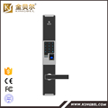 Most popular biometric fingerprint password door lock with card keys