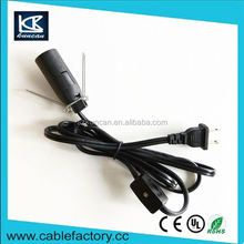 Alibaba china flexible spt lamp wire / cord / lead wire lamp cord with dimmer switch