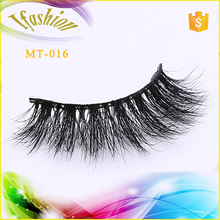 New Style Super Soft 3D Real mink false eyelashes create your own logo MT-016
