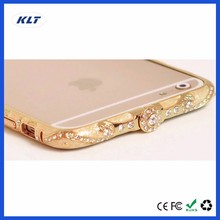 KLT Diamond Aluminum Alloy Metal Frame Protector Bumper Case Cover Pouch For iPhone Mobile Phone For Asus Zenfone 3 Max ZC553KL