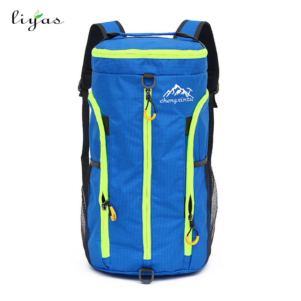 Custom Print Foldable Travel Hiking Backpack Promtional Sport Bag