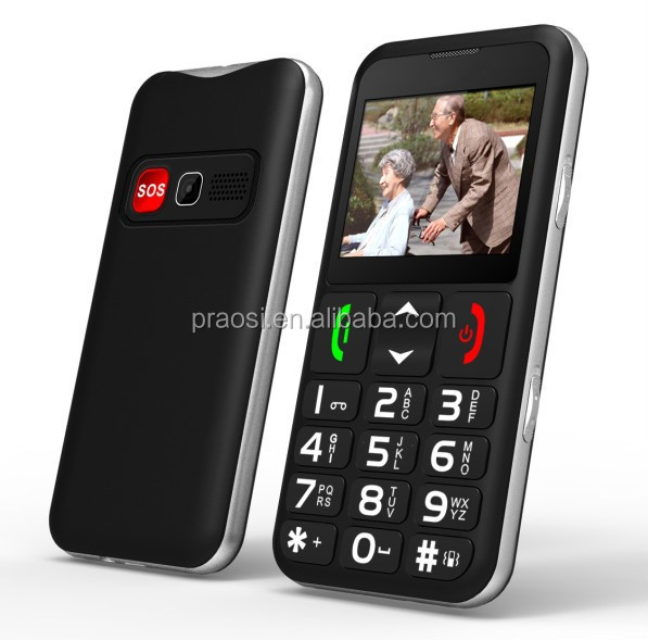 Quad band Dual sim card phone large keypad with large screen mobile phone, best gift to elderly people