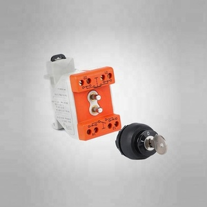 Explosion-proof 3 phase changeover switch with key