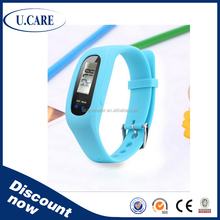2015 hot sales promotion cheap pedometer, wrist pedometer, pedometer instructions