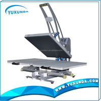 Yuxunda manual dual station heat press machine for t shirt logo photo printing