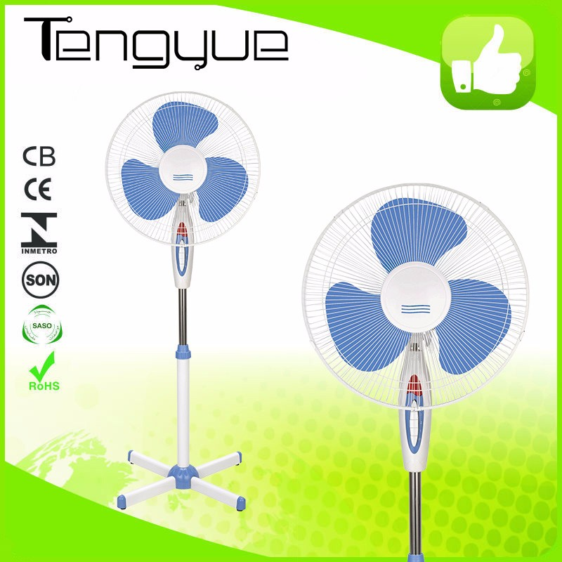 "16"" rechargeable standing fan solar rechargeable standing fan solar with remote control power source 12v dc motor"