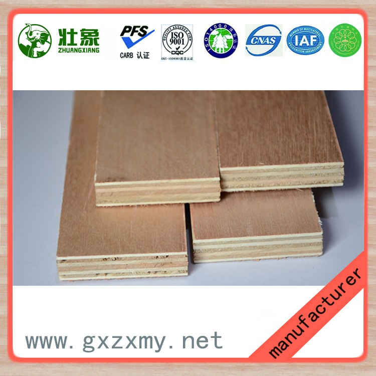 16mm film faced melamine faced veneer commercial plywood board