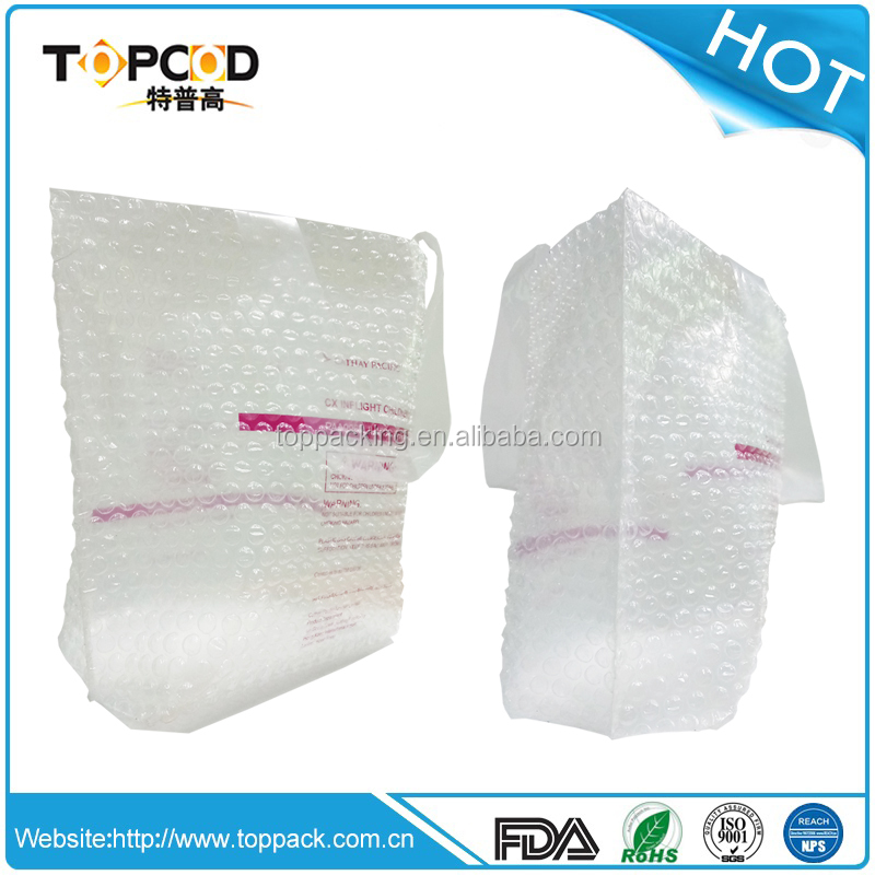 Customized cubic printing gift bubble bag from R&D Chinese Supplier and for packing fragile goods