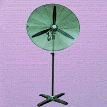 "26"" 32"" industrial stand fan with three metal blades"
