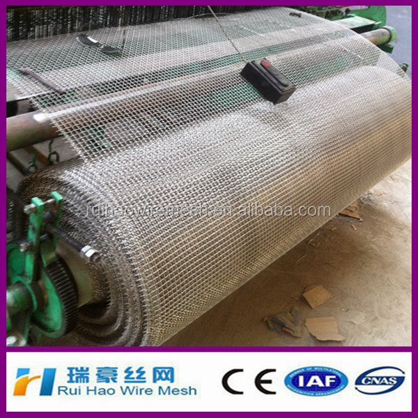 14 gauge stainless steel crimped wire mesh