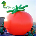 Factory price inflatable tomato shaped helium balloon for farm advertising
