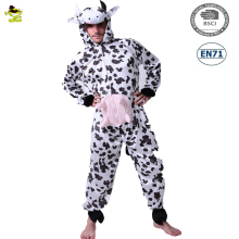 Carnival party brown cow costume animal adult cow mascot costume