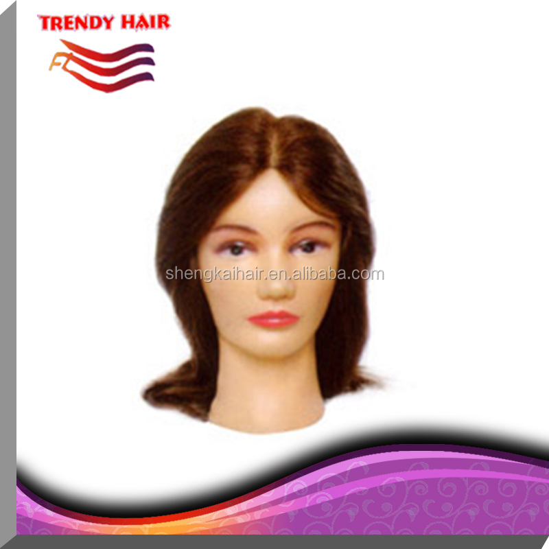 Mannequin head,lesson wig, training head