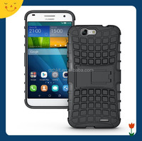 China wholesale! hybrid rugged hard case cover for Huawei Ascend G7 case 2 in1 armor cell phone case