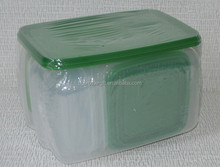 17 Pcs plastic food storage container set