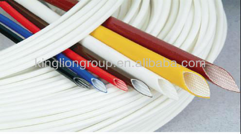 fiberglass sleeves coated with silicone rubber