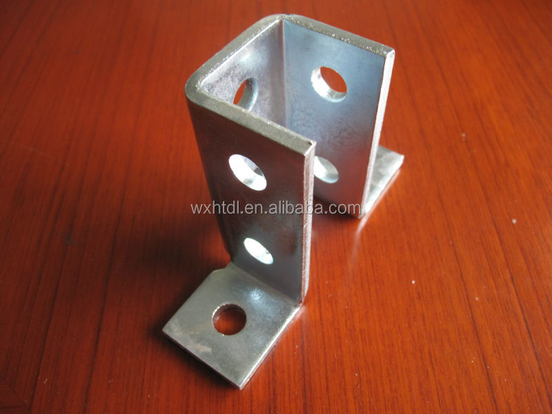 Galvanized Wing Shape Strut Fitting