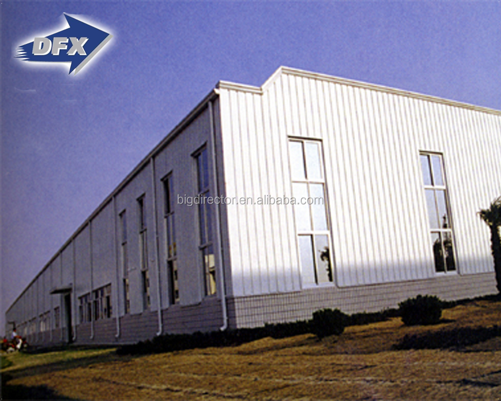 portal frame prefabricated light industrial steel structure warehouse