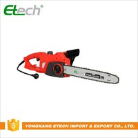 Cordless electricity chain saw wood cutting machine