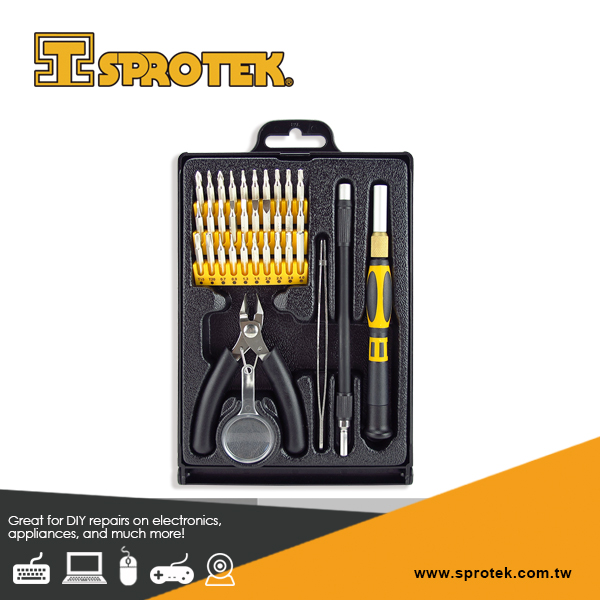 35 pieces Best Precision screwdriver Set with Tweezers for Household Mobile Cell phone