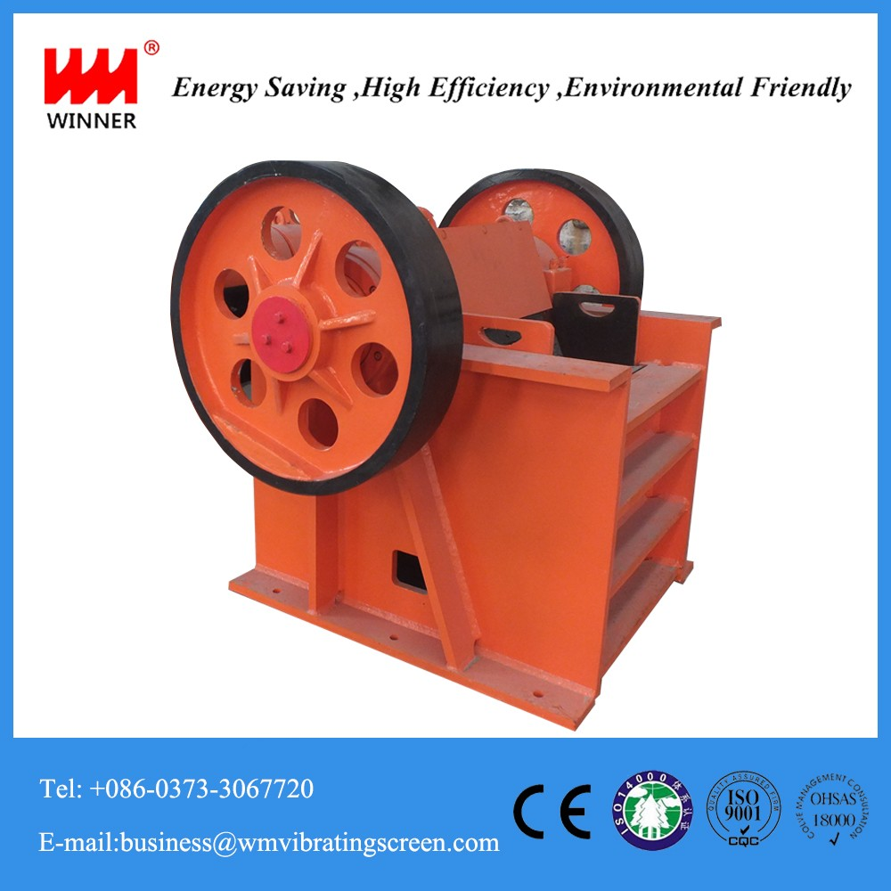 Mini small quarry jaw crusher/stone crusher plant with layout and designing