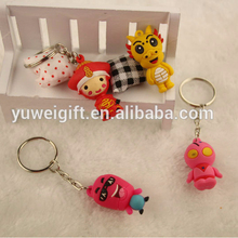 Most popular promotional custom sound effect keychain for wholesale
