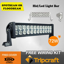 Higher Cost Performance 72W Double Row LED Light Bar