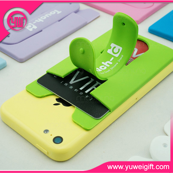 2016 The newest promotional silicone mobile phone holder