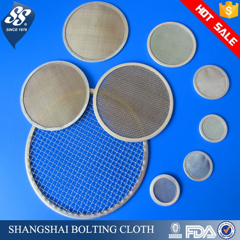 plain twill dutch weave 25 50 100 200 300 400 micron 304 316L stainless steel rosin oil filter mesh screen / wire mesh