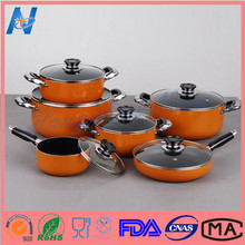 High End Standard Enamel Coated Cast Iron Cookware