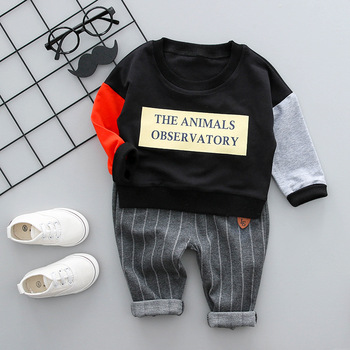 New Fashion Clothing Outfit Cute Baby Clothing Sets Boys Clothes Suit