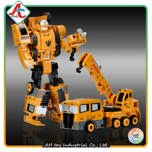 hot selling DIY Deformable Alloy robot toys for children