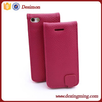 Vertical Leather Flip cover for iphone 5c cases, 5c waterproof case, i phone 5c case