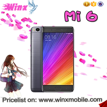 2017 new products Original mi 6 RAM/ROM 6/128GB 12MP Camera latest 5g mobile android phone