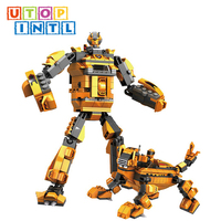 super quality diy popular robot blocks girls toys for playing