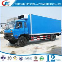 Hot selling Refrigerated Truck Box Refrigerated Van ice cream food carts