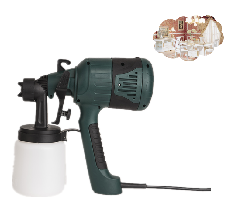 Electrostatic Paint Spray Gun,Useful Power Tool Paint Sprayer with Low Price